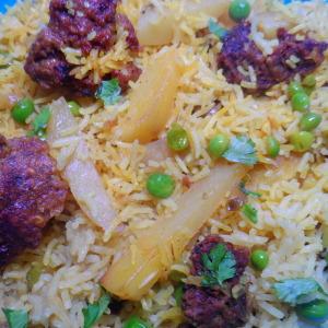amritsari vadiyan pulao