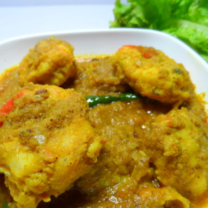 chingri malai curry photo