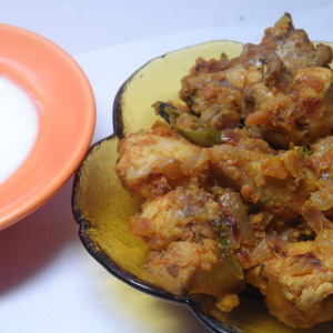 curd chicken photo