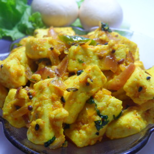 low calorie achari paneer photo