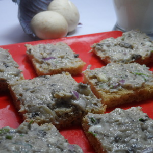 Cheese Mushroom Bread Recipe