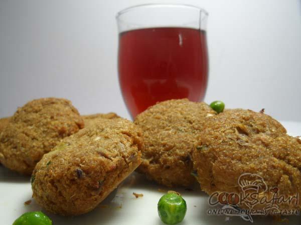 Baked Soya Ki Tikki Recipe