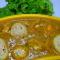 Paneer stuffed aalo with gravy