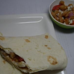 Stuffed Tortillas With Chickpeas Recipe
