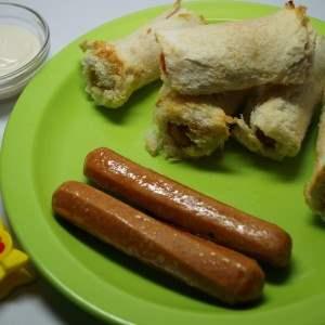 bread sausage roll recipe