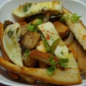 Leftover Bread to Delicious Fry