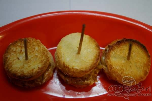 mini chicken sandwiches recipe
