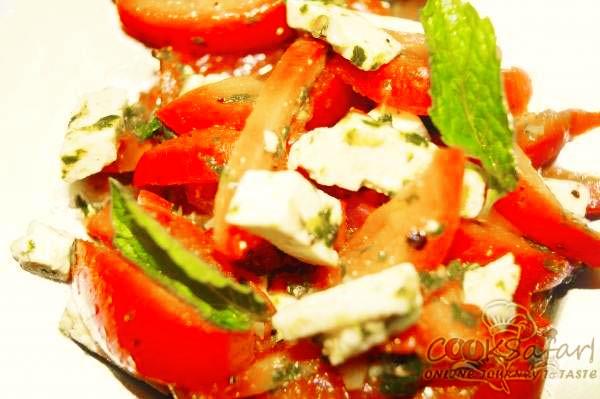 Tomato and Mint Salad