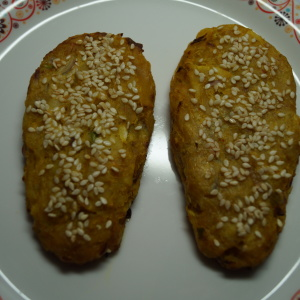Cabbage Potato Vegetable to Baked Sesame Patties