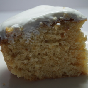 Cream Sugar Glazed Lemon Cake Recipe