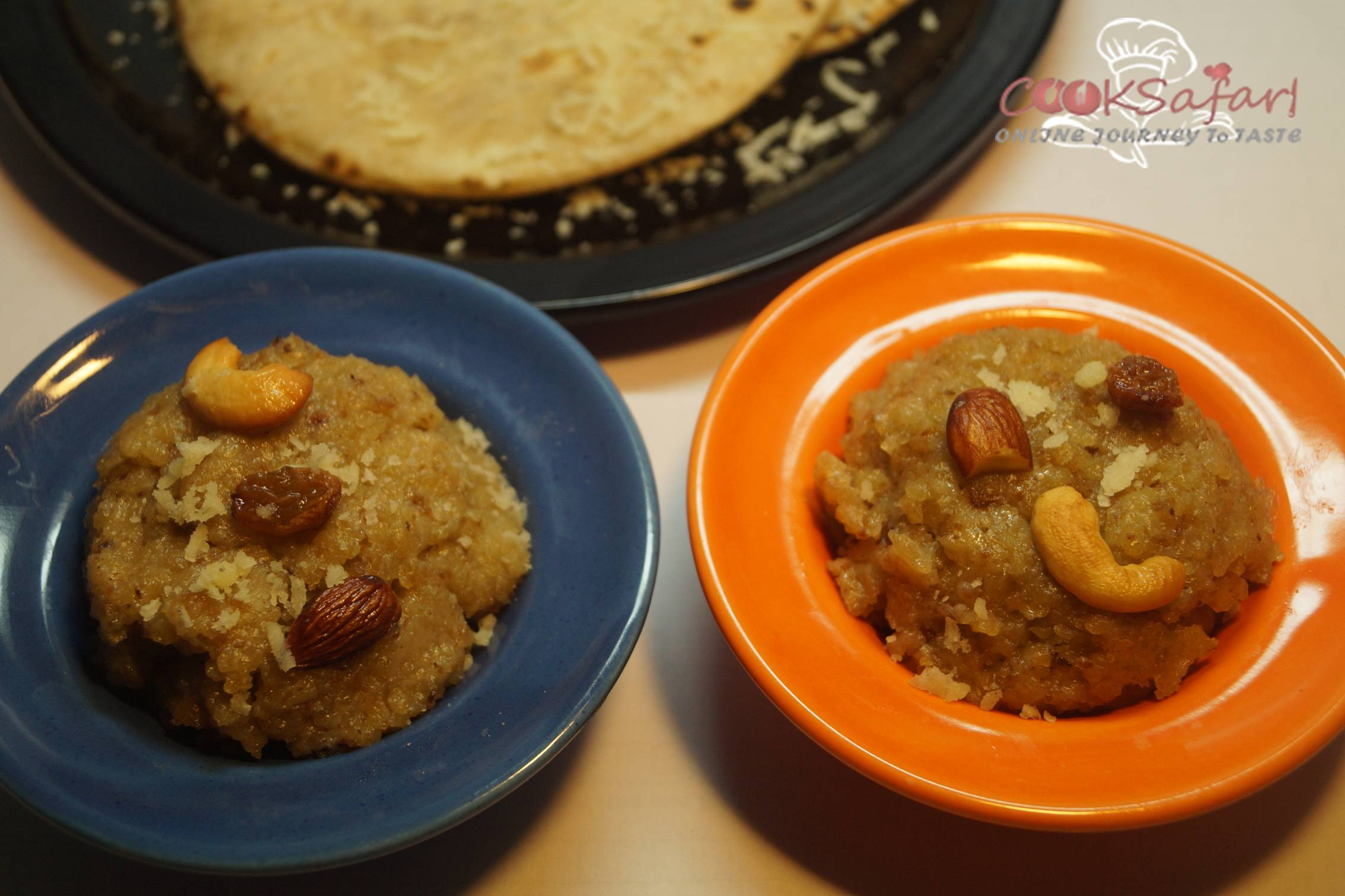 Leftover Roti to Halwa