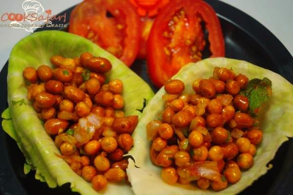 Chatpate Moongfali Matar Recipe