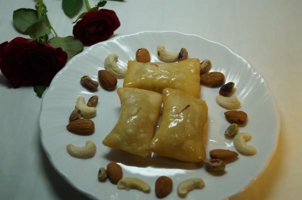 shahi mawa bags recipe
