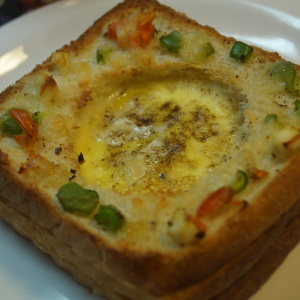Twisted Egg Toast Recipe