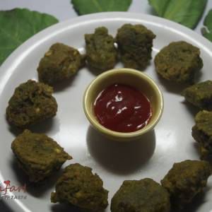 Chana Dal Palak Pakoda Recipe