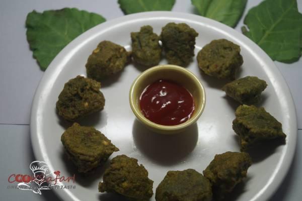 Chana Dal Palak Pakoda Recipe