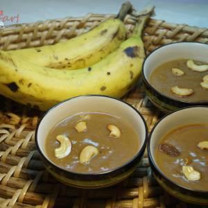 NinthraPazahm (Banana) Pradhaman Recipe