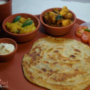 how to cook aloo paratha