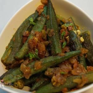 masala bhindi recipe