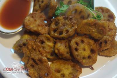 Crispy Lotus Stem Recipe